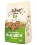 Biscotti BIO Naturotti al grano saraceno senza glutine 300g